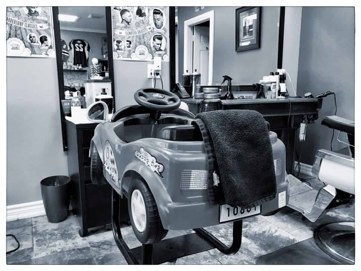 Classic barber shop chairs - Ralphs Classic Barber Shop Kids Chair